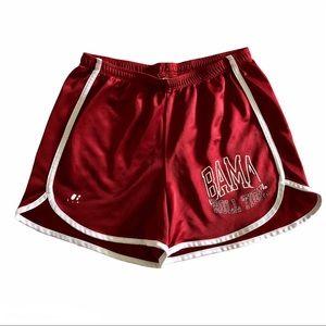 VTG Alabama Roll Tide Crimson Gym Running Shorts M